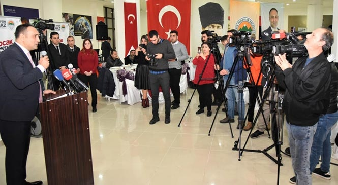 Başkan Yılmaz, 10 Ocak Çalışan Gazeteciler Günü'nü Kutladı