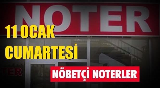 11 Ocak 2020 Cumartesi Günü Mersin ve Tarsus'taki Nöbetçi Noterler