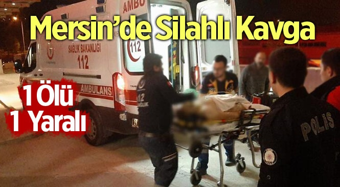 Mersin Mut'ta Silahla Vurulan Ali Peker Hayatını Kaybetti