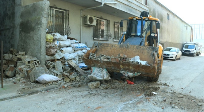 Sel Mağduru Vatandaşın Yardımına Büyükşehir Koştu