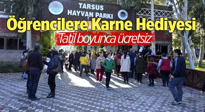 Tarsus Hayvan Parkı, Yarıyıl Tatilinde Öğrencilere Ücretsiz Olacak