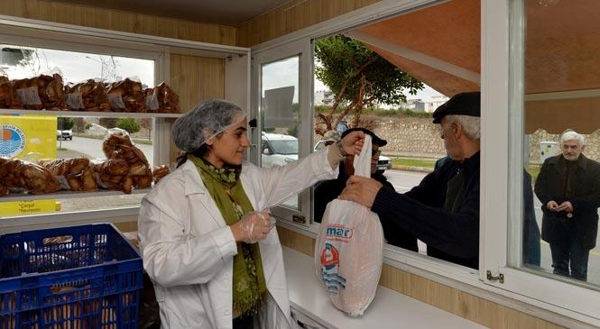 Mersin'de MER-EK Büfeleri Kadınlara Emanet