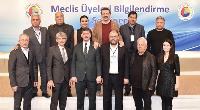Tarsus Ticaret Borsası Ankara'da