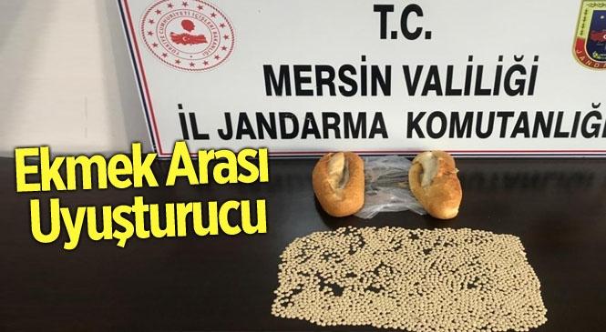 Mersin'de Ekmek Arasında Uyuşturucu Ticareti! Jandarma Yakaladı