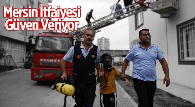 Mersin Büyükşehir İtfaiye Ekipleri , 2019 Yılında 9 Bin 880 Olaya Müdahale Etti