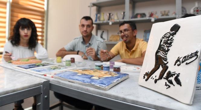 Büyükşehir'in Atölyeleri Hayatlara Dokunmaya Devam Ediyor