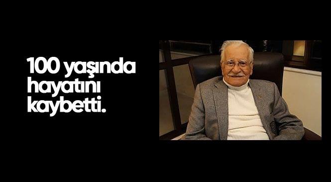 Mersin'in Yaşayan Hafızasıydı! Şinasi Develi 100 Yaşında Hayatını Kaybetti