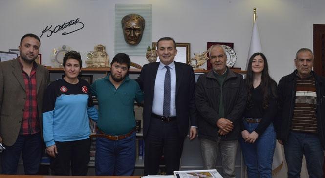 Mersin Yenişehir Belediyesinden Özel Sporculara Destek Sözü