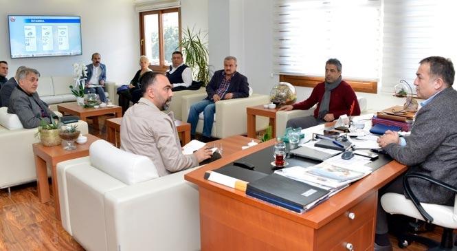 Yenişehir Belediyesi Elazığ'a yardım için harekete geçti