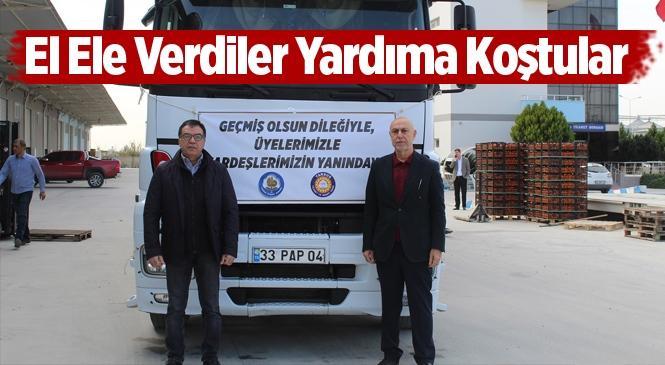Tarsus TSO ve Tarsus Borsasında Deprem Bölgesine Yardım
