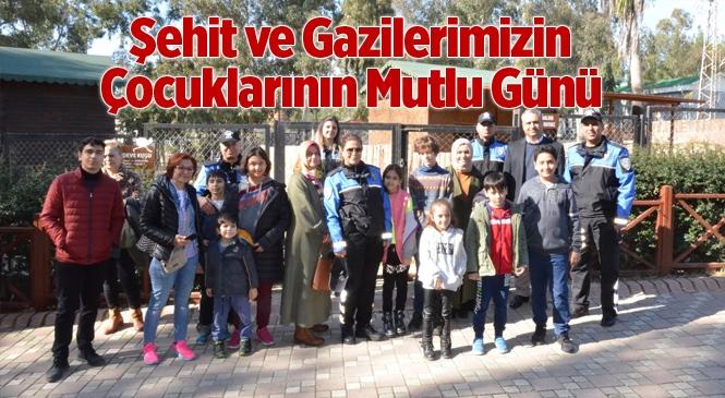 Tarsus Doğa Parkı, Şehit ve Gazi Çocuklarını Ağırladı