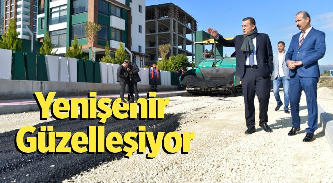 Yenişehir'de Asfalt Çalışmaları Sürüyor