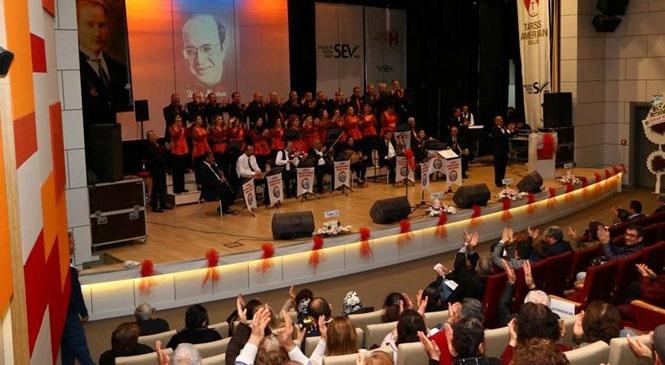 Tarsus İnleyen Nağmeler Musiki Derneği, Yılın İlk Konserini Verdi