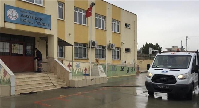 Mersin'de Okullar İkinci Döneme Hazırlanıyor