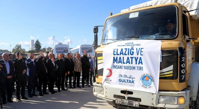 Temel İhtiyaç Malzemeleri, Elazığ ve Malatya'da Yaşayan Deprem Mağduru Vatandaşlara Ulaştırılacak