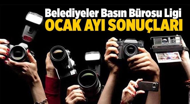Mersin İlçe Belediyeleri Basın Bürosu Ligi Ocak Ayı Sonuçları! İlks Sıralar ve Son Sıralar!