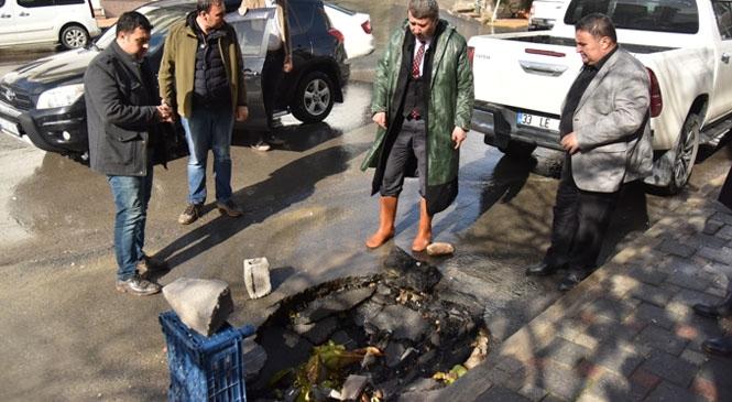 Anamur'da Belediye Başkanı ve Başkan Yardımcısı Çalışmaları İnceledi