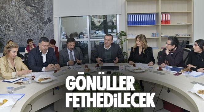 Saha Verileri Işığında Proje Geliştirecek Olan Yenişehir Belediyesinin Gönüllüleri, Gönülleri Fethedecek