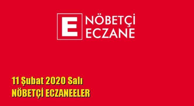 Mersin Nöbetçi Eczaneler 11 Şubat 2020 Salı