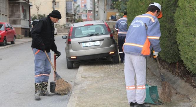 Toroslar Belediyesi, Temizlik Çalışmalarında Hız Kesmiyor