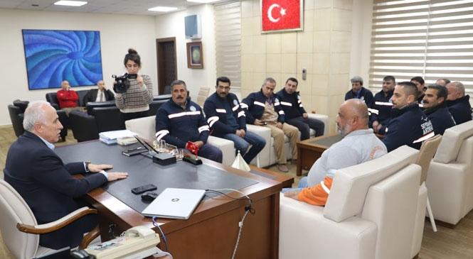 Başkan Mustafa Gültak, FedakÂr Şoförleri Ödüllendirdi