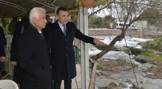 KKTC 3. Cumhurbaşkanı Derviş Eroğlu Mersin'de