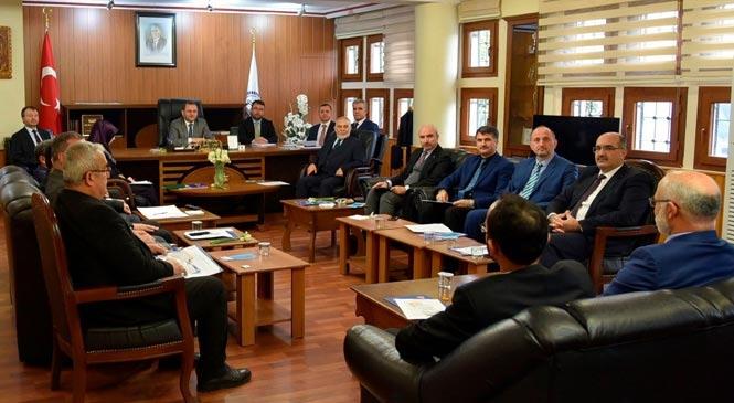 Mersin İlçe Müftüleri Toplantısı Tarsus'ta Yapıldı