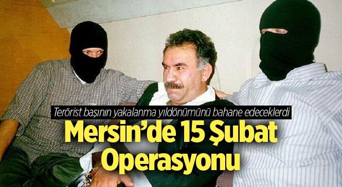 Mersin'de Jandarma Ekiplerinden Terör Ögrütü PKK Operasyonu