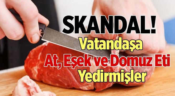 Adana'da 2 Firmada Tek Tırnaklı Et Tespit Edildi
