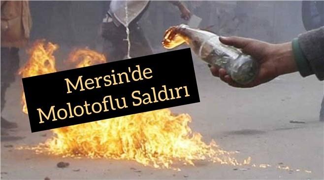 Mersin Tarsus'ta Göçmen Sağlığı Merkezine Molotoflu Saldırı