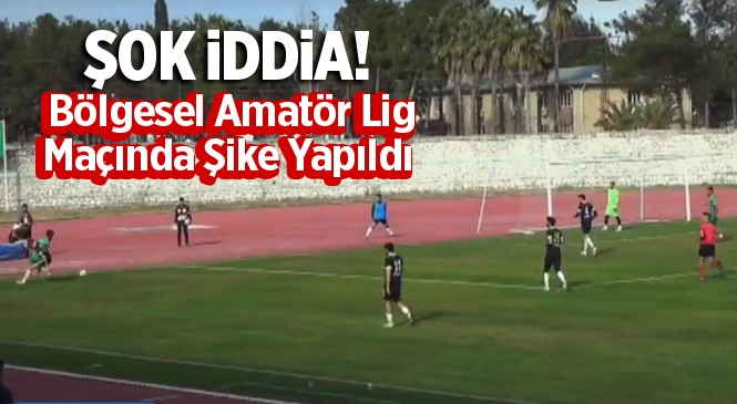 Ceyhanspor İle Pozantı Gençlik Spor Maçında Şike İddiası Ortalığı Karıştırdı
