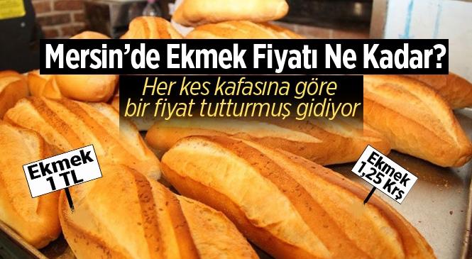Mersin'de Ekmek Fiyatlarında Farklılık Tepki Çekiyor!