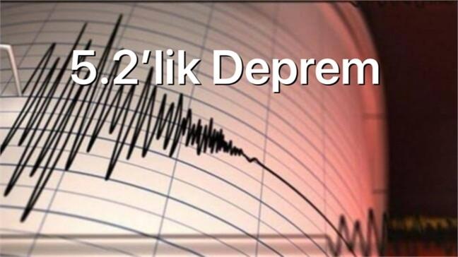 Manisa'da Depremler