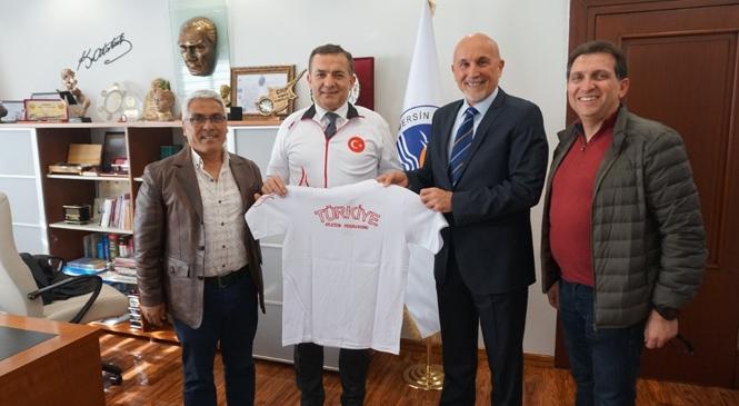 Atletizm Federasyonu'ndan Başkan Özyiğit'e Teşekkür