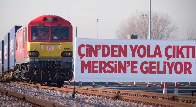 Urumçi-Mersin Seferini Yapan Tren Çin'den Yola Çıktı