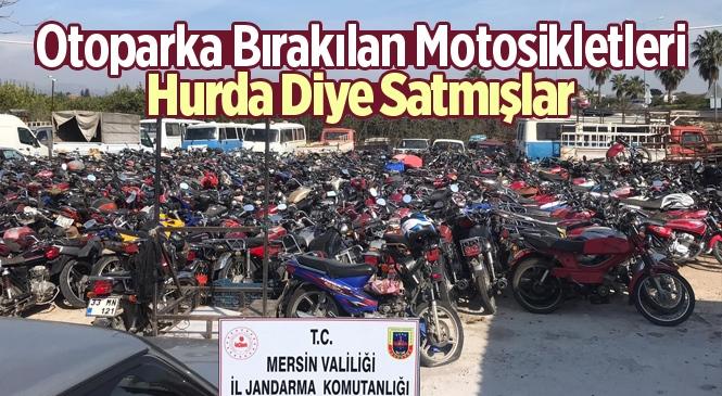 Otoparka Bırakılan Motosikletleri Hurda Diye Satmışlar