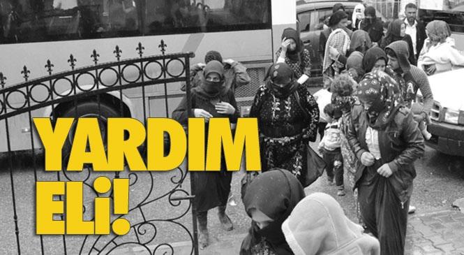 Mersin Tarsus'ta Aşırı Yağıştan Etkilenen Çadırda Kalan Tarım İşçileri Tahliye Edildi