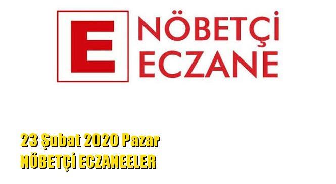 Mersin Nöbetçi Eczaneler 23 Şubat 2020 Pazar