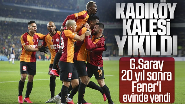 Fenerbahçe:1 Galatasaray:3