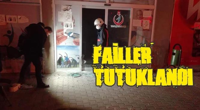 Mersin Tarsus'taki Göçmen Sağlığı Merkezine Yapılan Molotoflu Saldırıyı Gerçekleştiren Şahıslar Tutuklandı