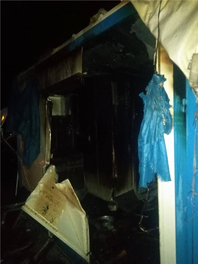 Mersin'in Çamlıyayla İlçesi Kale Mahallesindeki Bir Evde Yangın Çıktı