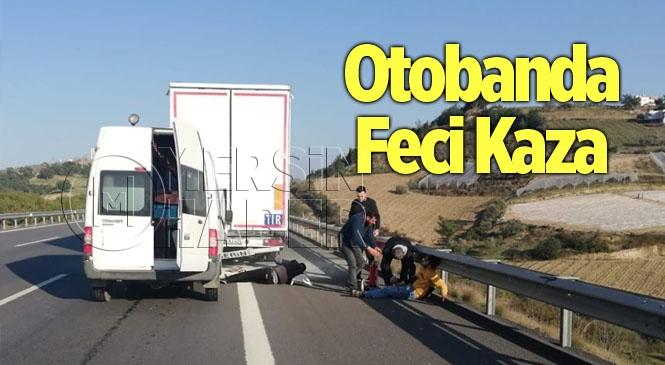 Mersin- Adana Otobanında Feci Kaza