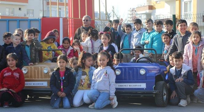 Erdemli Belediyesi Çocuk Trafik Eğitim Parkuru, Yeni Dönemde De Öğrencilere Kapılarını Aralıyor