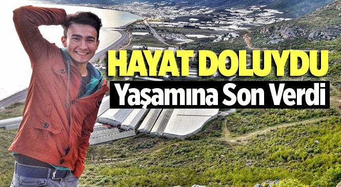 Mersin Bozyazı'da 22 Yaşındaki Mücahit Mavi İsimli Genç İntihar Etti