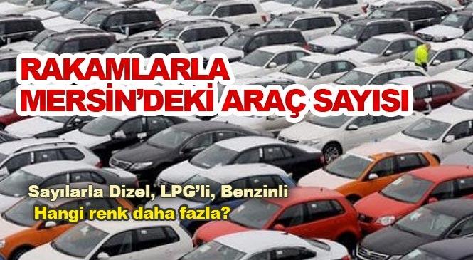 Mersin'de 621 Bin 595, Adana'da Trafiğe Kayıtlı Toplam 659 Bin 346 Araç Var! Hangisi Daha Fazla Dizel Mi Benzinli Mi?