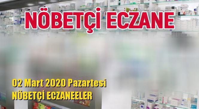 Mersin Nöbetçi Eczaneler 02 Mart 2020 Pazartesi