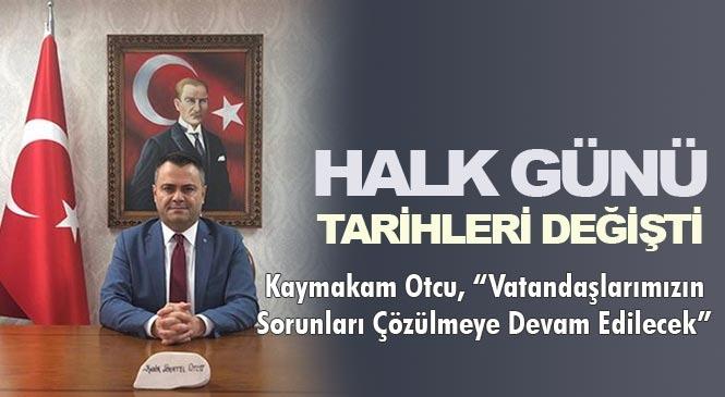 Mersin Tarsus'ta Her Hafta Perşembe Günü Düzenlenen 'Halk Günü Toplantıları' Ayda Bir Yapılacak