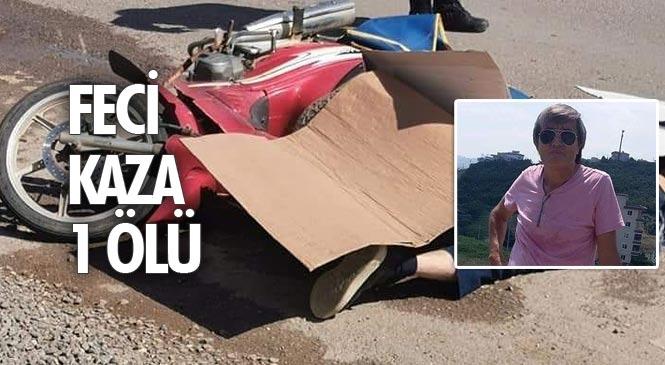 Mersin Erdemli'de Kamyonun Altında Kalan Motosiklet Sürücüsü Halil Dölek Hayatını Kaybetti