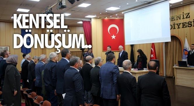 Akdeniz Belediye Meclisi, Mart Ayı Toplantısını Gerçekleştirdi! Çay Mahallesi'nde Dönüşüm Başlıyor