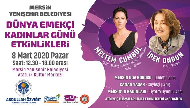 Mersin Yenişehir'de 8 Mart Sanatla Kutlanacak
